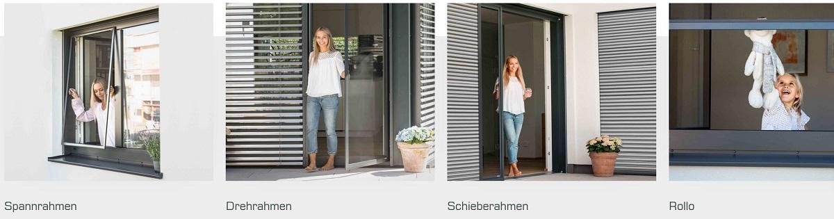 Insektenschutz Pollenschutz modelle 7schlotterer fuehrer-fenster.at